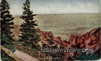 Grand View Point - Misc, Colorado CO Postcard