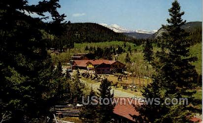 Peaceful Valley Lodge - Misc, Colorado CO Postcard