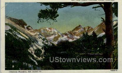 San Isabel National Forest - Misc, Colorado CO Postcard