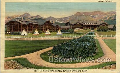 Glacier Park Hotel  - Misc, Colorado CO Postcard