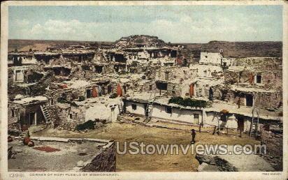 Corner of Hopi Pueblo of Mishongnavi - Colorado CO Postcard
