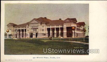Mineral Palace - Pueblo, Colorado CO Postcard