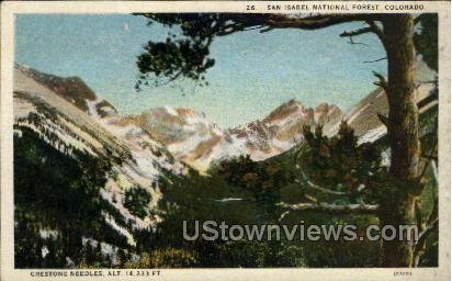 San Isabel National Forest - Pueblo, Colorado CO Postcard