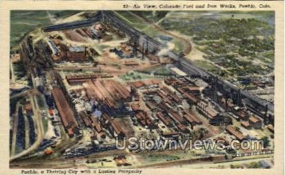 Colrado Fuel and Iron Works - Pueblo, Colorado CO Postcard