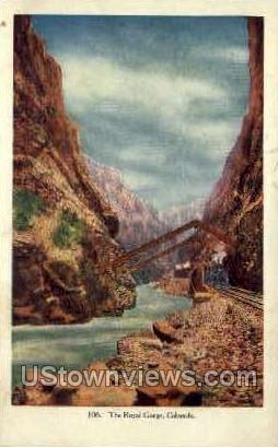 The Royal Gorge   - Misc, Colorado CO Postcard