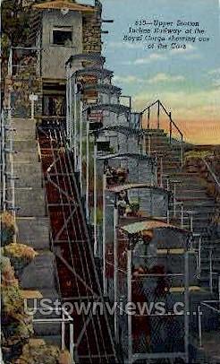 Upper Station, Incline Railway - Canon City, Colorado CO Postcard