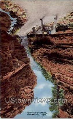 The Narrows, Williams Canyon - Manitou, Colorado CO Postcard