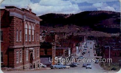 Bennette Ave. - Cripple Creek, Colorado CO Postcard