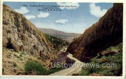 Priest Canyon - Canon City, Colorado CO Postcard