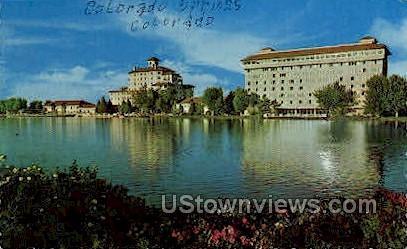 Broadmoor & Broadmoor South - Colorado Springs Postcards, Colorado CO Postcard
