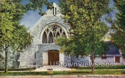 Christ Church - Canon City, Colorado CO Postcard