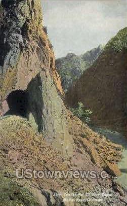 Tunnel, Moffat Road - Colorado CO Postcard
