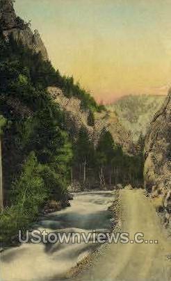 Canyon Road - Misc, Colorado CO Postcard