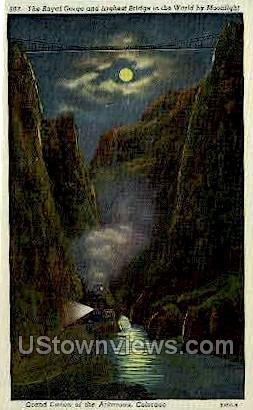Royal Gorge Bridge  - Canon City, Colorado CO Postcard