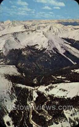Berthoud Pass - Misc, Colorado CO Postcard