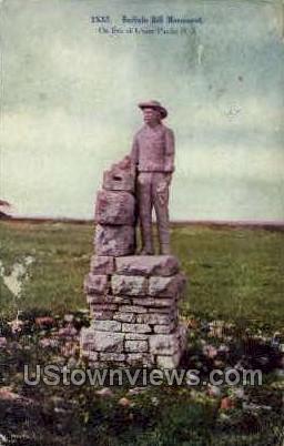 Buffalo Bill Monument - Misc, Colorado CO Postcard
