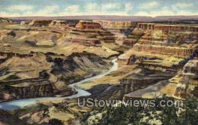 Desert View - Misc, Colorado CO Postcard