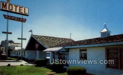 Rambler Motel - Pueblo, Colorado CO Postcard