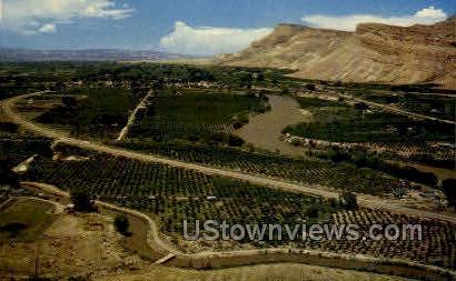 The Grand Valley - Misc, Colorado CO Postcard