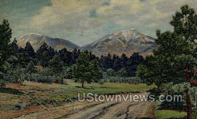 Spanish Peaks - Misc, Colorado CO Postcard