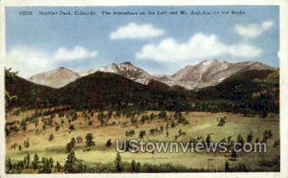 Boulder Park, CO, Colorado Postcard