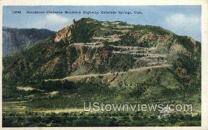 Broadmoor - Colorado Springs Postcards, Colorado CO Postcard