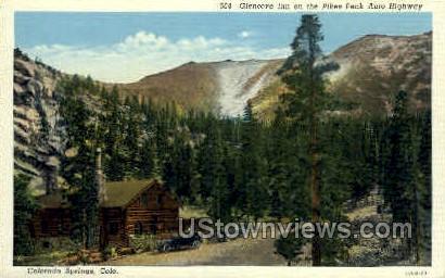 Glencove Inn - Colorado Springs Postcards, Colorado CO Postcard