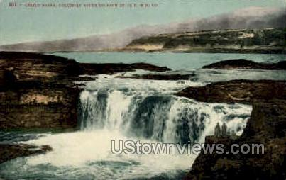 Celilo Falls - Misc, Colorado CO Postcard