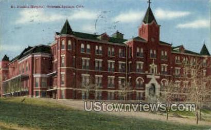 Francis Hospital - Colorado Springs Postcards, Colorado CO Postcard
