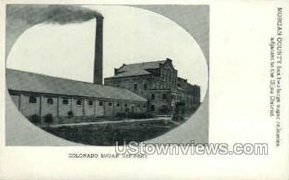 Sugar Refinery - Misc, Colorado CO Postcard
