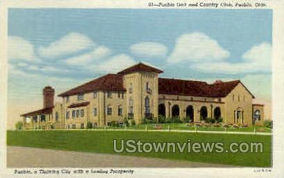 Pueblo Golf & Country Club - Colorado CO Postcard