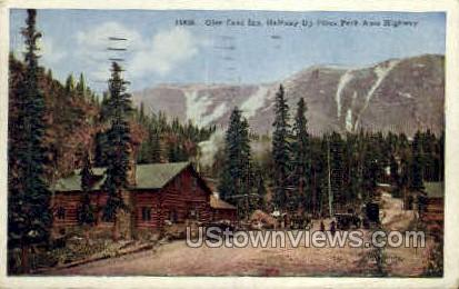 Glen Cove Inn, Pikes Peak - Colorado Springs Postcards, Colorado CO Postcard