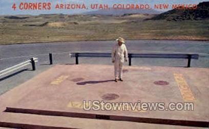 Colorado, NM, Arizona, Utah - Misc Postcard