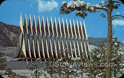 U.S. Air Force Academy - Colorado Springs Postcards, Colorado CO Postcard