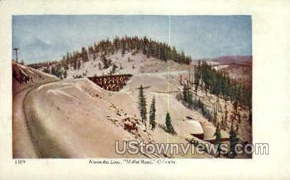 Moffat Road - Misc, Colorado CO Postcard