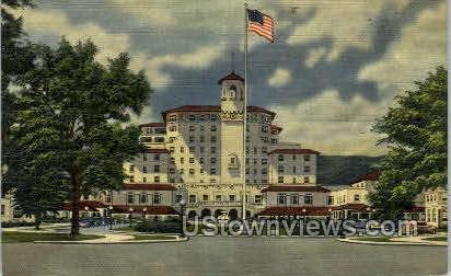 The Broadmoor Hotel - Colorado Springs Postcards, Colorado CO Postcard