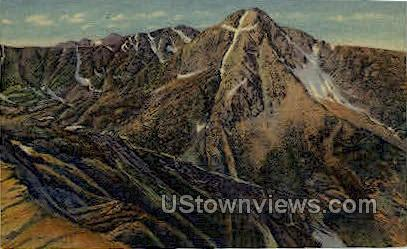 Mountain of the Holy Cross - Misc, Colorado CO Postcard
