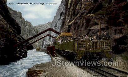 Observation Car - Canon City, Colorado CO Postcard