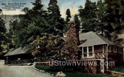Bruin Inn  - Colorado Springs Postcards, Colorado CO Postcard