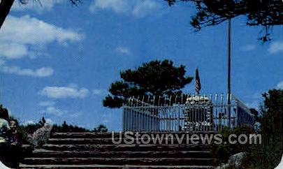 Buffalo Bills Grave - Denver Mountain Parks, Colorado CO Postcard