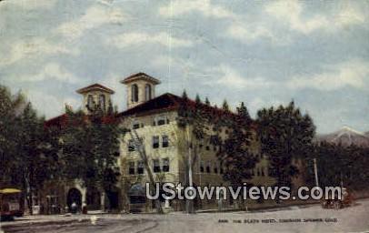 The Plaza Hotel - Colorado Springs Postcards, Colorado CO Postcard