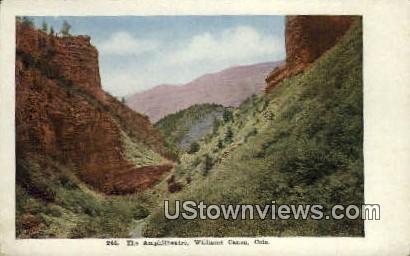 Amphitheatre - Williams Canon, Colorado CO Postcard