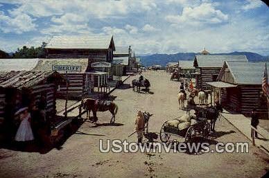 Buckskin Joe - Canon City, Colorado CO Postcard