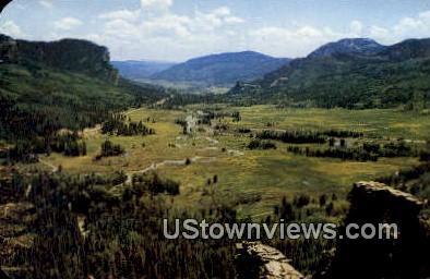 Indian Head, San Juan River - Mesa Verde National Park, Colorado CO Postcard