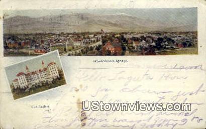 The Antlers - Colorado Springs Postcards, Colorado CO Postcard