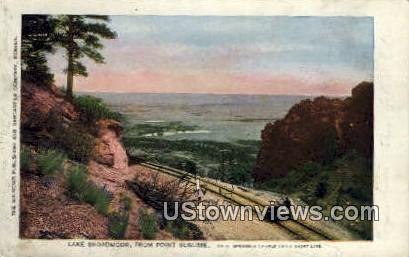 Lake Broadmoor - Colorado Springs Postcards, Colorado CO Postcard