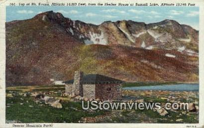 Mt. Evans - Denver Mountain Parks, Colorado CO Postcard