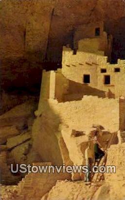 Cliff Palace - Mesa Verde National Park, Colorado CO Postcard