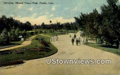 Mineral Palace Park - Pueblo, Colorado CO Postcard