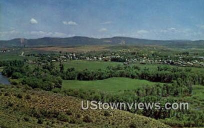 Yampa River Valley - Hayden, Colorado CO Postcard